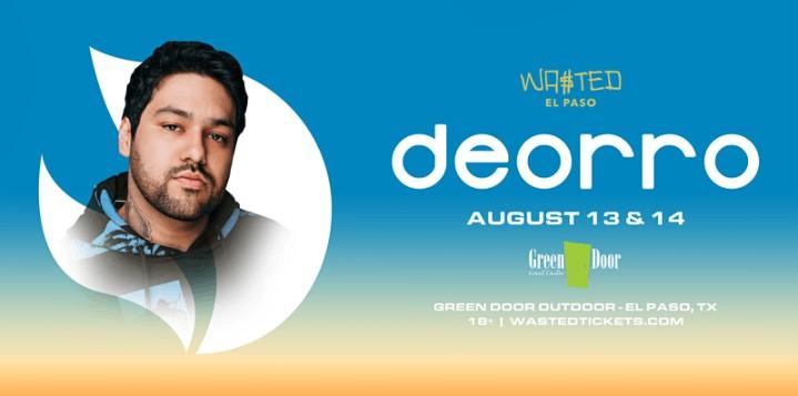 El Paso: Deorro @ Green Door Outdoor - Friday August 13th [18 & OVER]